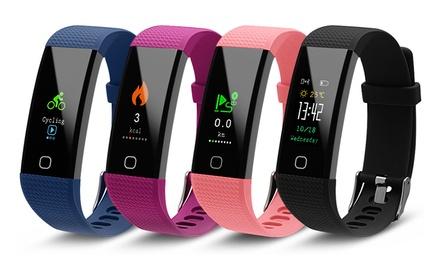 Aquarius AQ125 Fitness Tracker met touchscreen en HRM