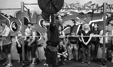 $44 for One Month of Unlimited CrossFit Classes at CrossFit Byram or CrossFit Clinton ($135 Value)
