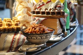 Great British Restaurant: Iftar or Eid Buffet for a Child or Up to Four Adults at 5* Dukes Dubai