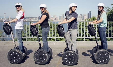 75-Minute Segway Tour of West Seattle or $50 Gift Certificate from West Coast Entertainment (Up to 50% Off)