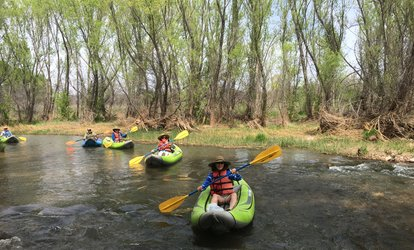 image for Inflatable Kayak Verde River Trip with Shuttle for Two or Four at Sedona Adventure Tours (Up to 48% Off)