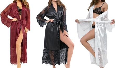 Long Sleeve Kimono Bathrobe