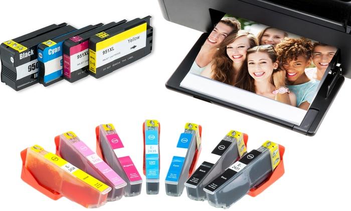 Groupon Goods Global GmbH: Recargas de cartuchos de tinta para impresora desde 5,99 € (hasta 88% de descuento)