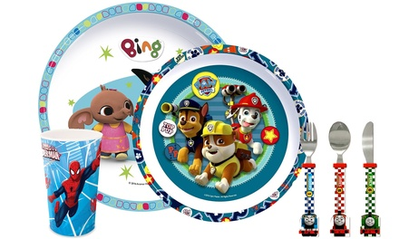 CharacterThemed Dining and Cutlery Set for Kids