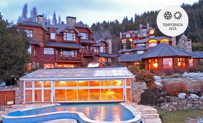Bariloche: desde $2999 por 2, 3, 4, 5 o 7 noches para dos + desayuno + spa + copas de bienvenida en Nido del Condor
