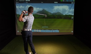 Precision Golf: 1-Hour of Indoor Driving Range for Up to 4 People:1($19), 3($55) or 5($89) Sessions at Precision Golf (Up to $200 Value)