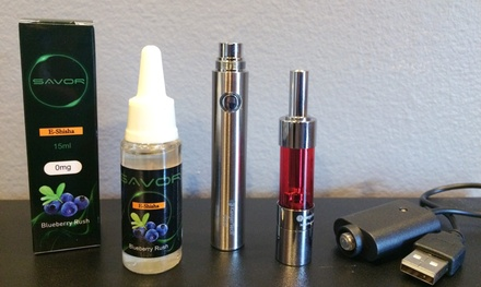 Premium E-Cigarette Starter Kit at SM Vapors