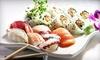 Up to 43% Off Sushi, Sashimi, and Japanese Food at Tokoname
