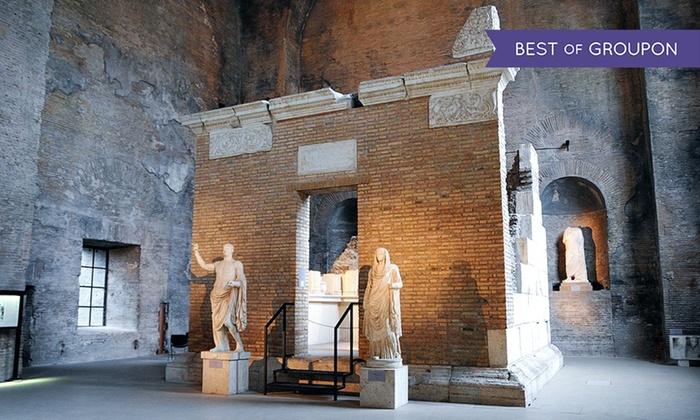 Ars in Urbe - Ars In Urbe: Visita guidata alle Terme di Diocleziano e alla chiesa di S. M. degli Angeli per 2 o 3 persone (sconto 53%)