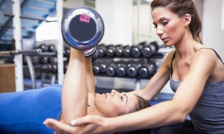 Five Personal Training Sessions with Diet and Weight-Loss Consultation from BYOB-Fit (75% Off)