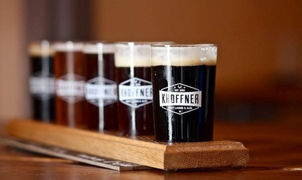 Flight or Tour and Tasting for Two or Four at Khoffner Brewery (Up to 40% Off)