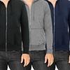 Men's Fleece Zip-Up Hoodie (2-Pack)