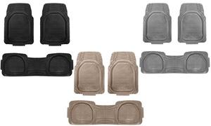 Heavy Duty Trimmable Floor Mat Set (3-Piece)