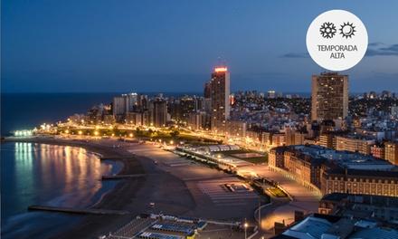 Mar del Plata: desde $499 por 2, 3, 4 o 7 noches para dos + temporada alta en Las Heras Hotel