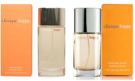 Eau de parfum Clinique Happy 30ml, 50ml ou 100ml pour femme
