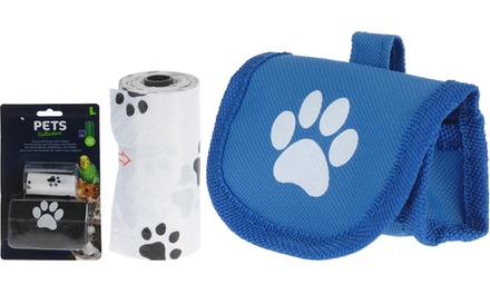 Dog Poop Bag Holder with 12 Bags From £4