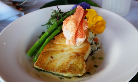 Steak and Seafood for Two or Four at South Beach Grille (Up to 40% Off)