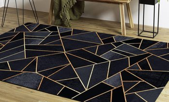 Tapis moderne style graphique