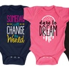 Girl's Inspirational Infant Bodysuits