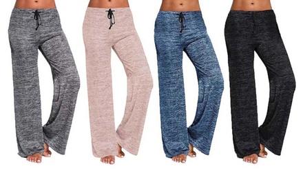 1 ou 2 Pantalons confort casual pour femme Bonicaro