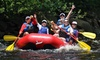 Family-Style Whitewater Rafting Trip with Lunch for Four on the Lehigh River
