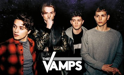 image for The Vamps, 14 - 28 April at Seven Locations (Up to 50% Off)