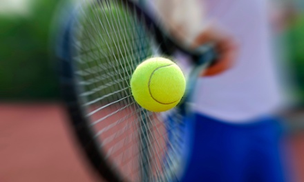 Up to 81% Off on Tennis - Training at Centro Sportivo Dlf a 22,90€euro