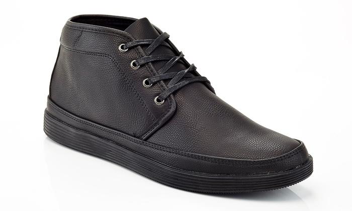 Franco Vanucci Men's Lace-Up Chukka Boots