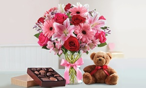 50% Off Valentine's Day Flowers & Gifts from 1-800-Flowers.com at 1-800-Flowers.com, plus 6.0% Cash Back from Ebates.