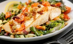 Kings Fish House: 5-Gänge-Fisch-Menü für zwei oder vier Personen im Restaurant Kings Fish House (bis zu 74% sparen*)