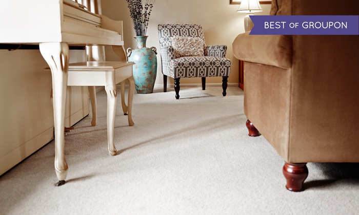 All Seasons Chem-Dry - Ventura County: $117 for Carpet Cleaning for Four Rooms from All Seasons Chem-Dry (Up to $209 Value)