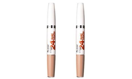 Set de 2 barras de labios Maybelline Super Stay 24h
