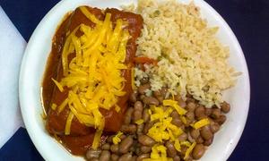 La Casita Tex-Mex: Homestyle Tex-Mex Food at La Casita Tex-Mex (Up to 55% Off). Three Options Available.