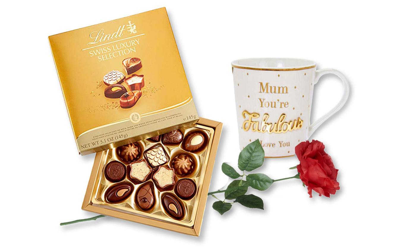 Lindt Swiss Luxury Selection Gift Bundle