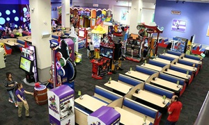 Chuck E. Cheese's UAE: 10, 40 or 60 Playing Tokens, or Up to 80 Tokens with Pizza and Soft Drinks at Chuck E. Cheese's UAE