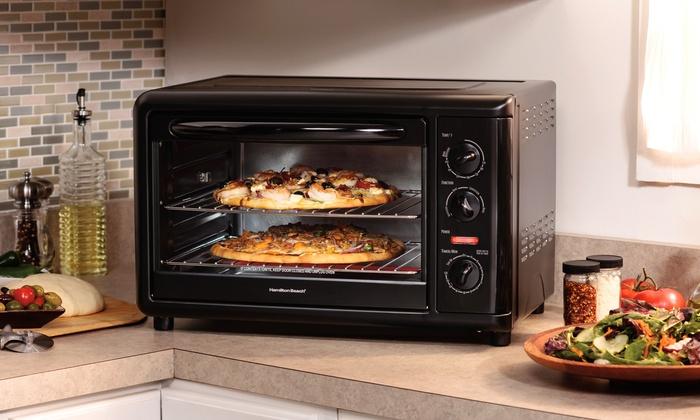 Countertop Rotisserie Oven Canada : Hamilton Beach Countertop Oven: Hamilton Beach Countertop Oven ...