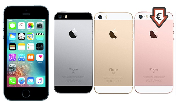 apple iphone se 16 go reconditionn groupon. Black Bedroom Furniture Sets. Home Design Ideas