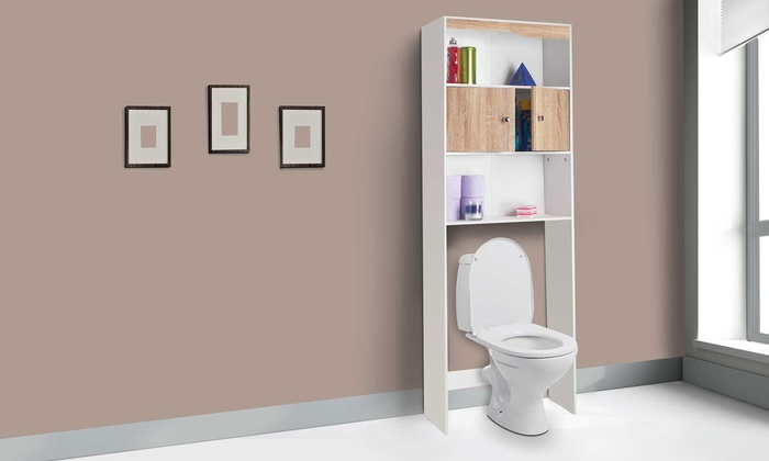 Meuble wc gain de place groupon shopping for Wc gain de place villeroy et boch