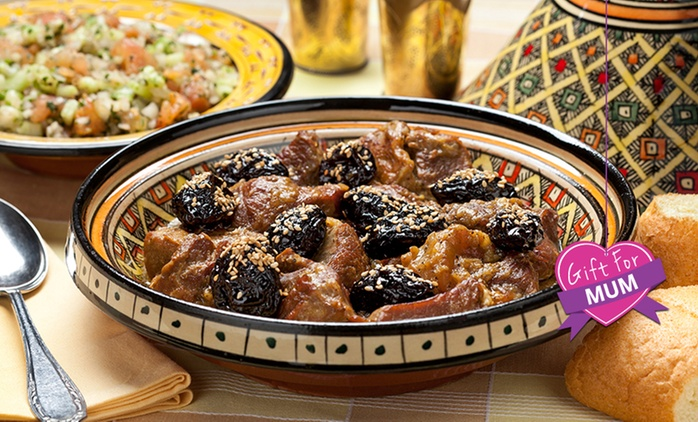 Two-Course Moroccan Lunch for Two ($29), Four ($49), or Six People ($75) at Casablanca, Wollongong (Up to $185 Value)