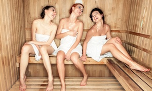 The Cutting Edge Salon: 5 or 10 Infrared-Sauna Sessions, or Six Months of Unlimited Sessions at The Cutting Edge Salon (Up to 57% Off)