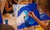 Art Bar - Santa Margarita: Painting Workshop for 2, 4, or 12–18 at Art Bar (Up to 53% Off)
