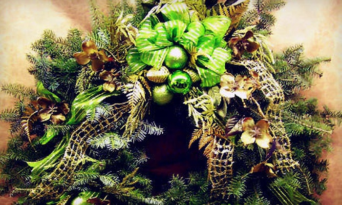 The Plant Professionals - DeWitt: $15 for $30 Toward Custom Holiday Wreaths at The Plant Professionals