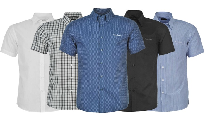 Pierre Cardin Short Sleeved Shirt Groupon Goods