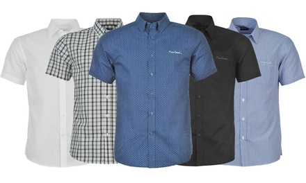 Pierre Cardin ShortSleeved Shirt in Choice of Colour