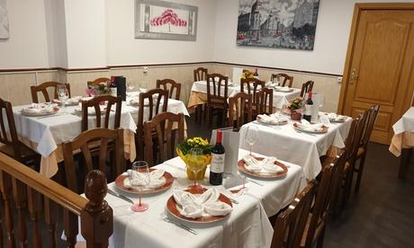 Menú degustación para 2 personas con entrantes, principal, postre y bebida en Bonhomía (hasta 54% de descuento)