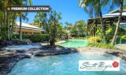 Sunshine Coast: Apartment for Two or Four People with Wine, Late Check-Out and Spa Voucher at South Pacific Resort & Spa