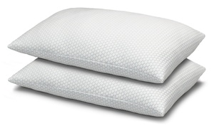Exquisite Hotel Cool N' Comfort Gel Fiber Pillow (2-Pack)