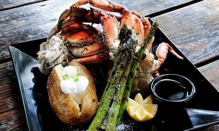 $30 for Fresh Seafood, Cajun & Creole Cuisines at Broadway Oyster Bar (40% Off)
