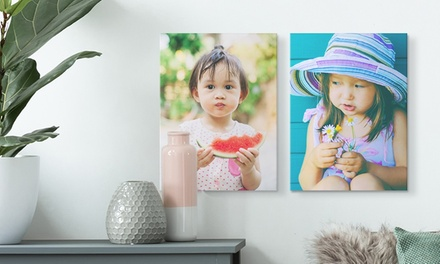 """One, Two, Three, or Four 12""""x16"""" Custom Premium Thick Wrap Canvas Prints from Canvas on Demand (Up to 92% Off)"""