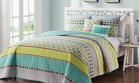 Dharma Collection Reversible Comforter, Duvet Cover or Quilt Set 12de6226-fa17-11e6-9f79-00259060b5da
